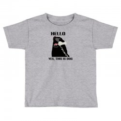 hello yes this is dog telephone phone Toddler T-shirt | Artistshot