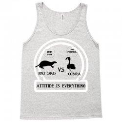 honey badger vs cobra attitude is everything Tank Top | Artistshot