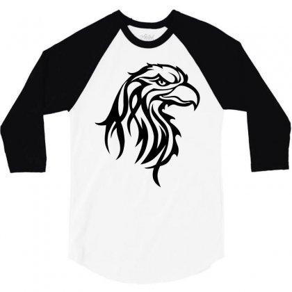Eagle 3/4 Sleeve Shirt Designed By Igun