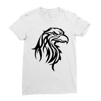 Eagle Ladies Fitted T-shirt Designed By Igun