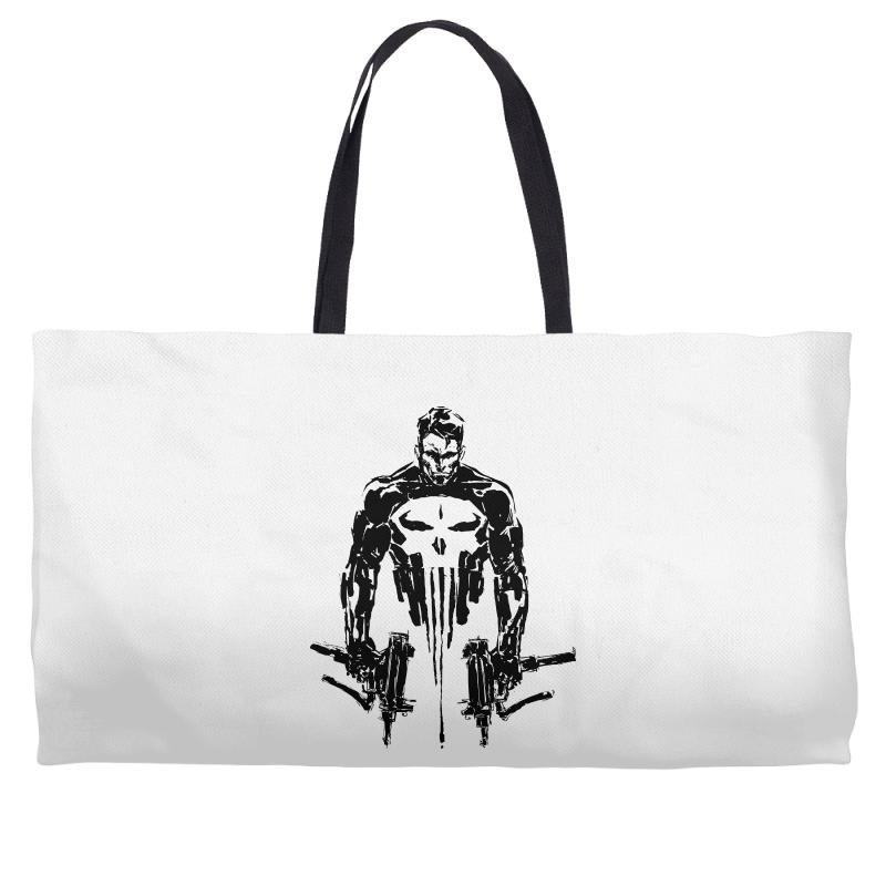 c55d65979caa8 Custom Punisher Weekender Totes By Sbm052017 - Artistshot