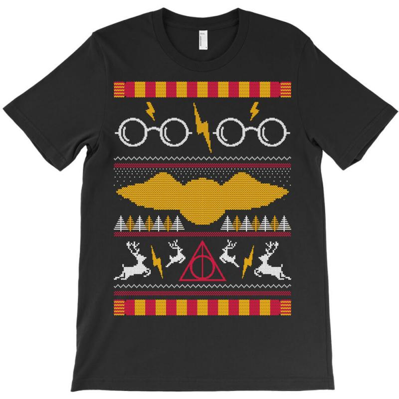 6803c9c52 Custom Harry Potter Ugly Sweater T-shirt By Tshiart - Artistshot