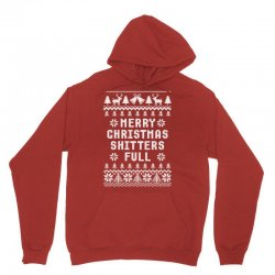 Merry Christmas Shitters Full Ugly Christmas Sweater Unisex Hoodie Designed By Tshiart