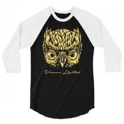 VANOSS LIMITED EDITION GOLDEN OWL 3/4 Sleeve Shirt | Artistshot