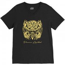 VANOSS LIMITED EDITION GOLDEN OWL V-Neck Tee | Artistshot