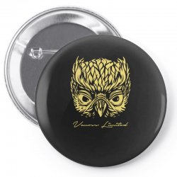 VANOSS LIMITED EDITION GOLDEN OWL Pin-back button | Artistshot