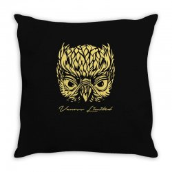 VANOSS LIMITED EDITION GOLDEN OWL Throw Pillow | Artistshot