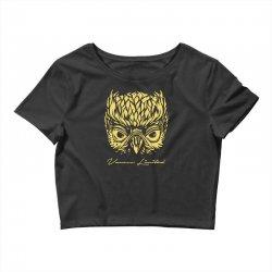 VANOSS LIMITED EDITION GOLDEN OWL Crop Top | Artistshot