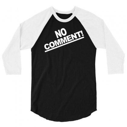 No Comment Team Tonya Harding 1994 3/4 Sleeve Shirt Designed By Mdk Art