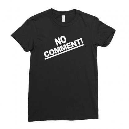 No Comment Team Tonya Harding 1994 Ladies Fitted T-shirt Designed By Mdk Art
