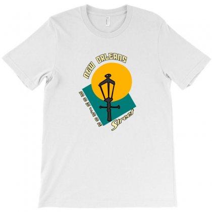 New Orleans Bourbon T-shirt Designed By Mdk Art