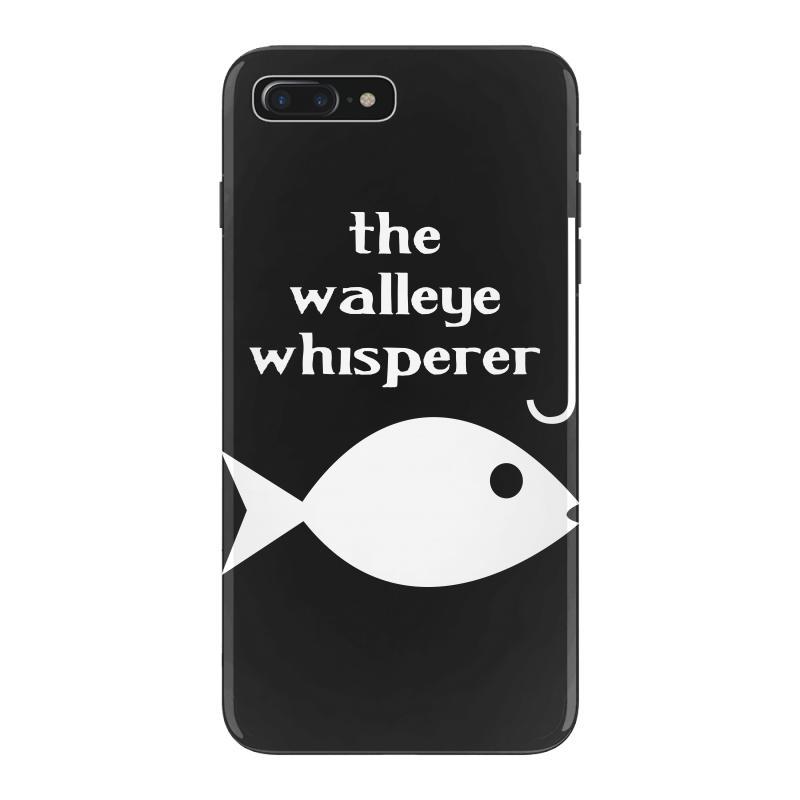 quality design de1e2 0396b Walleye Whisperer Fishing Iphone 7 Plus Case. By Artistshot