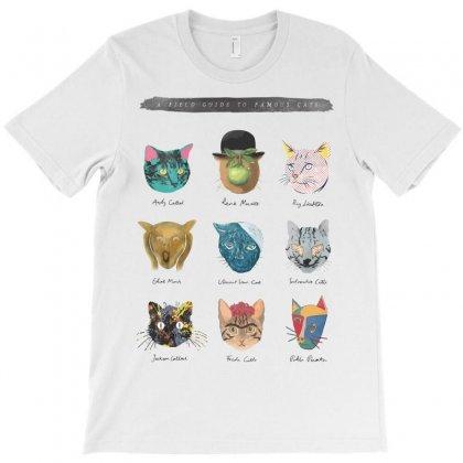 Art & Meow T-shirt Designed By Mdk Art