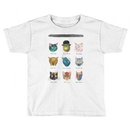 Art & Meow Toddler T-shirt Designed By Mdk Art