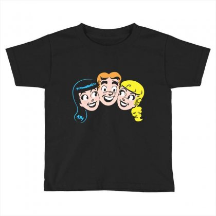 Archie's Girls Toddler T-shirt Designed By Mdk Art