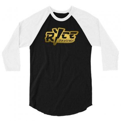 Ricegum Golden 3/4 Sleeve Shirt Designed By Constan002