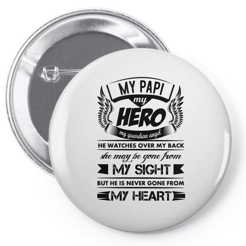0aa9973d Custom My Hero My Papi Pin-back Button By Kasemdesign - Artistshot