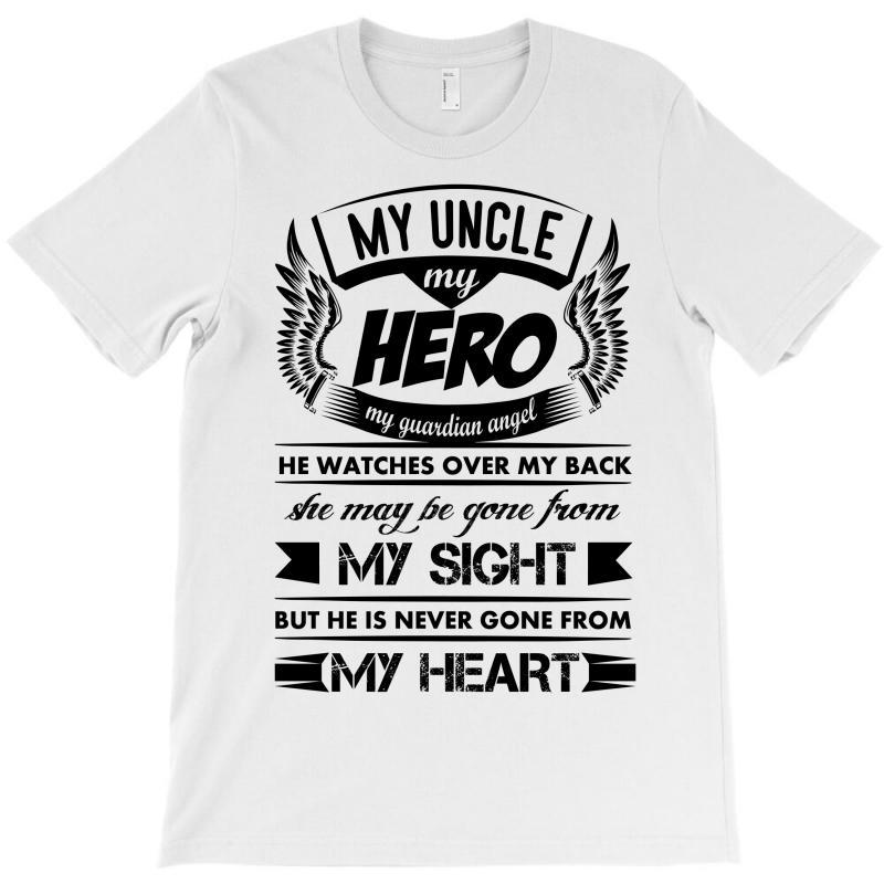 02f62cc5 Custom My Hero My Uncle T-shirt By Kasemdesign - Artistshot