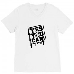 yes u can V-Neck Tee | Artistshot