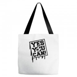 yes u can Tote Bags | Artistshot