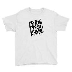 yes u can Youth Tee | Artistshot