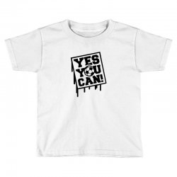 yes u can Toddler T-shirt | Artistshot