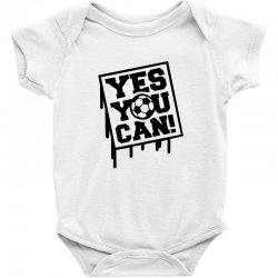 yes u can Baby Bodysuit | Artistshot