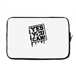 yes u can Laptop sleeve | Artistshot