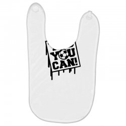 yes u can Baby Bibs | Artistshot