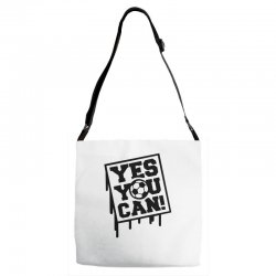 yes u can Adjustable Strap Totes | Artistshot
