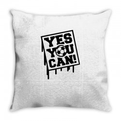 yes u can Throw Pillow | Artistshot