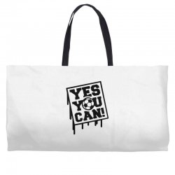 yes u can Weekender Totes | Artistshot