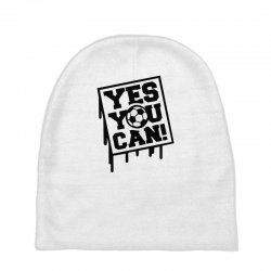 yes u can Baby Beanies | Artistshot
