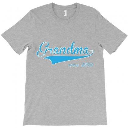 Grandma Since 2010 T-shirt Designed By Costom