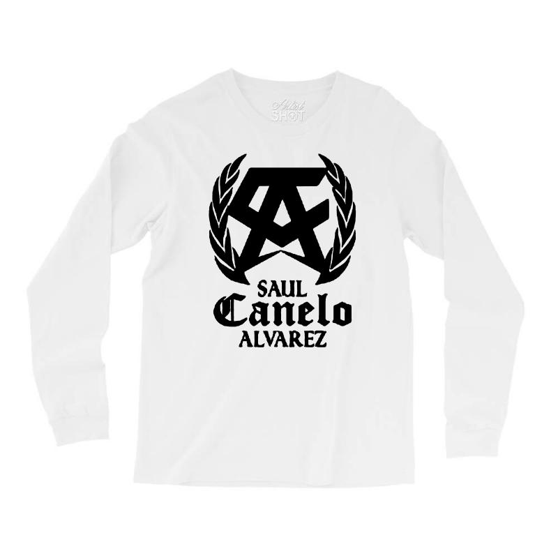 db2df96906c7 Custom Canelo Alvarez Saul Long Sleeve Shirts By Mdk Art - Artistshot