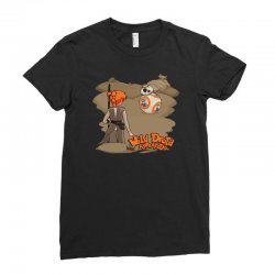 something wild appeared Ladies Fitted T-Shirt   Artistshot