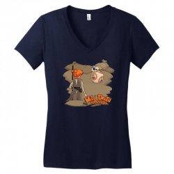 something wild appeared Women's V-Neck T-Shirt   Artistshot