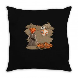 something wild appeared Throw Pillow   Artistshot