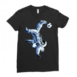 """""""buzz aldrin"""" always sounded like a sports name Ladies Fitted T-Shirt 