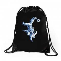 """""""buzz aldrin"""" always sounded like a sports name Drawstring Bags 