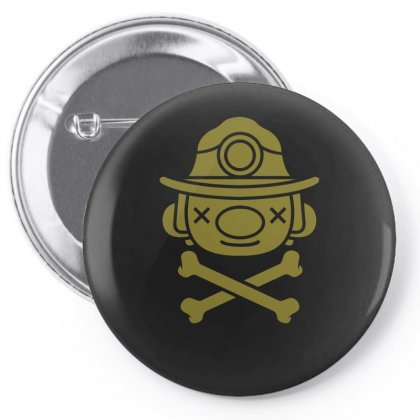 Spelunky   Miner Pin-back Button Designed By Mdk Art
