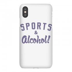 sports and alcohol! iPhoneX Case | Artistshot