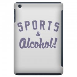 sports and alcohol! iPad Mini Case | Artistshot