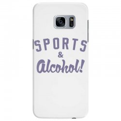 sports and alcohol! Samsung Galaxy S7 Edge Case | Artistshot