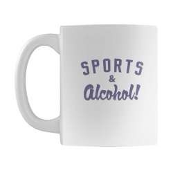 sports and alcohol! Mug | Artistshot