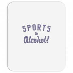 sports and alcohol! Mousepad | Artistshot