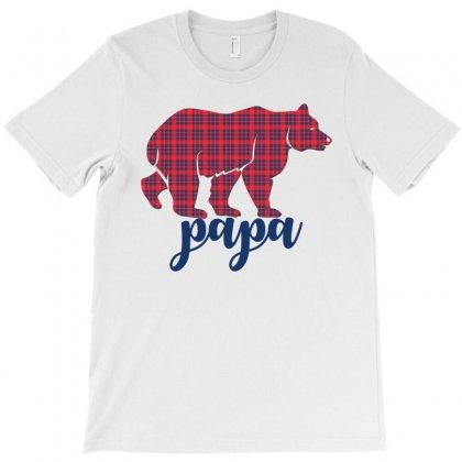 Papa Bear T-shirt Designed By Rardesign