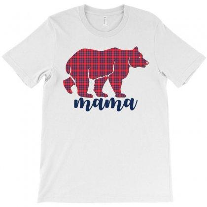 Mama Bear T-shirt Designed By Rardesign