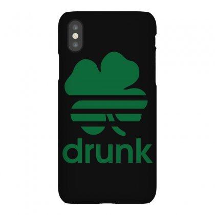 St Patricks Day Drunk Iphonex Case Designed By Mdk Art