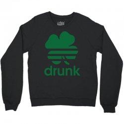 st patricks day drunk Crewneck Sweatshirt | Artistshot